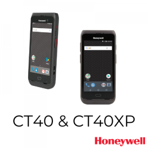 CT40 & CR40XP Mobile Computers by Honeywell