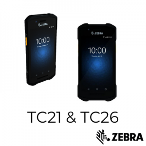 TC21 & TC26 Mobile Computers by Zebra