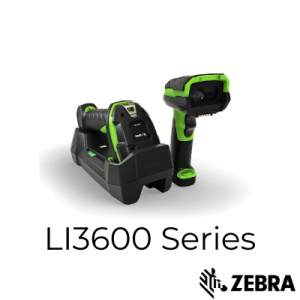 LI3608 & LI3678 Rugged Scanners by Zebra